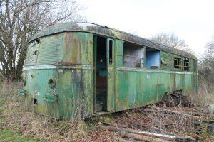 vergessener Schienenbus